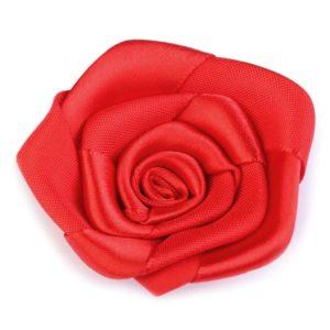 Růžička skládaná 05 červená a