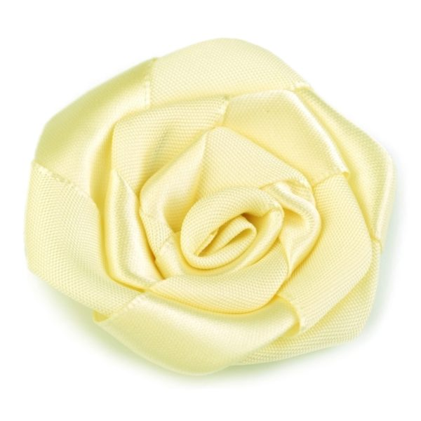 Růžička skládaná 08 žlutá