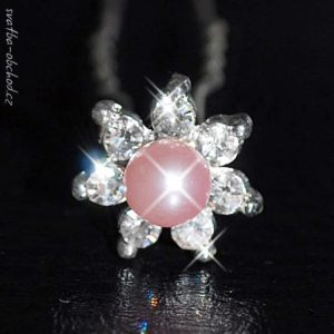 Vlásenka 044 světle růžová perlička