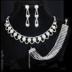 Souprava 367 bílé perličky