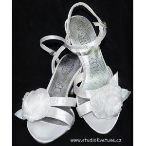 Svatební sandálky 01