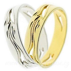 Snubní prsten Palermo