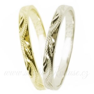 Snubní prsten Siena