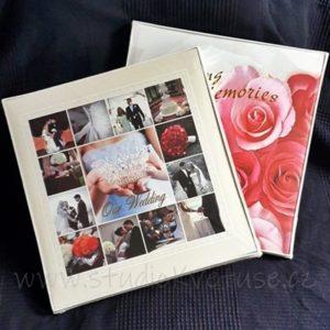 Svatební čtvercové album a