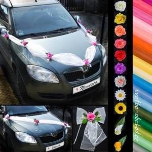 Svatební set na dvě auta 04