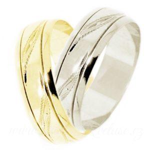 Snubní prsten Trento