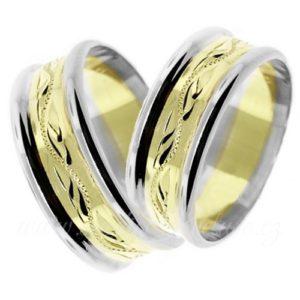 Snubní prsten Milano