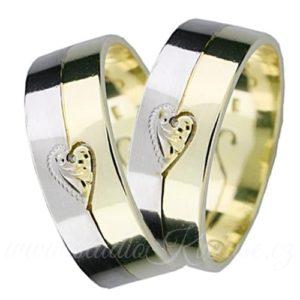 Snubní prsten Torino