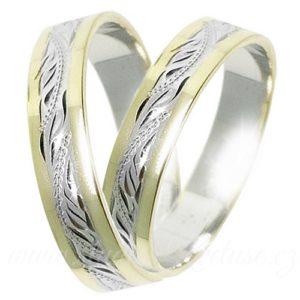 Snubní prsten Monaco