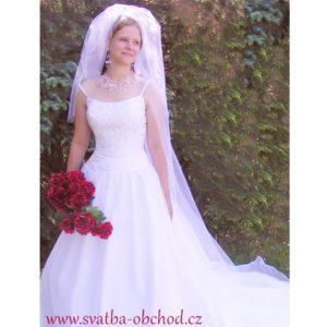 Svatební závojíček 250