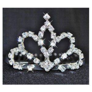 649483ab0c3 Svatební korunka 72 s perličkami - poslední kus - Studio Květuše