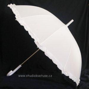 Deštníček bílý