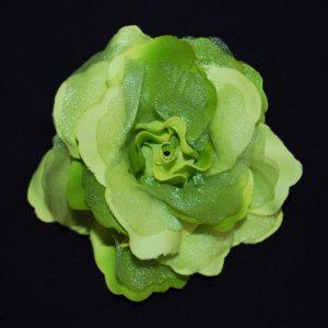 Růže 01 zelená s leskem 11cm