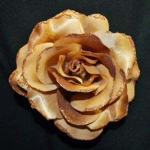 Růže 02 hnědá s leskem 10cm