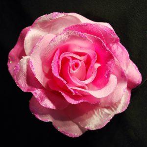 Růže 02 růžová s leskem 10cm