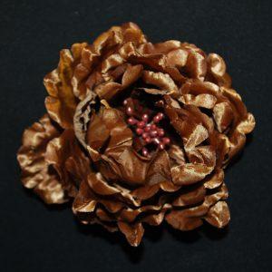 Růže 04 hnědá kulatá 10cm