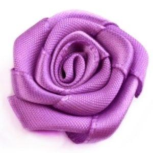Růžička skládaná 13 fialová