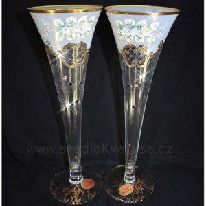 Svatební skleničky na přípitek 04