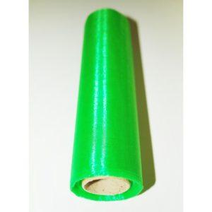 Organza stuha zelená 16cm
