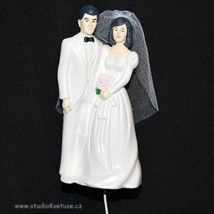 Zápich 02 novomanželé v bílém