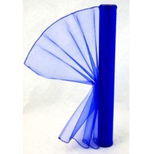 Organza královsky modrá 012