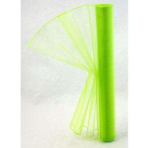 Organza zelená 009 délka 92cm