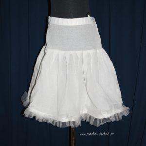 Spodnice 65 bílá