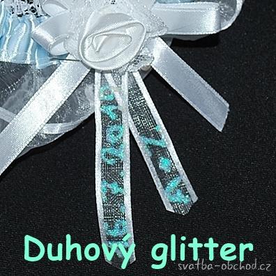 Glitter liner duhový