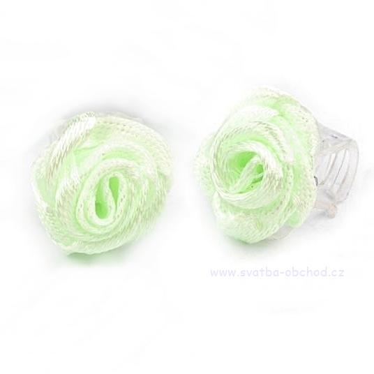Skřipeček 10 zelená růžička