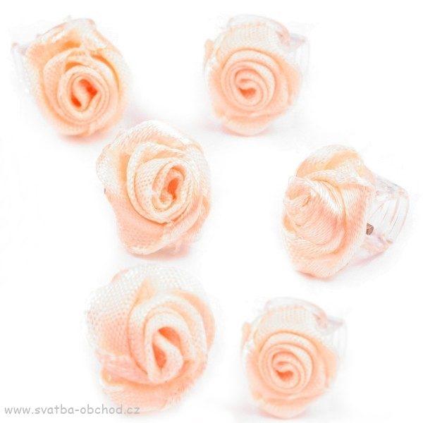 Skřipeček 15 lososová růžička - Studio Květuše 595ccc1489