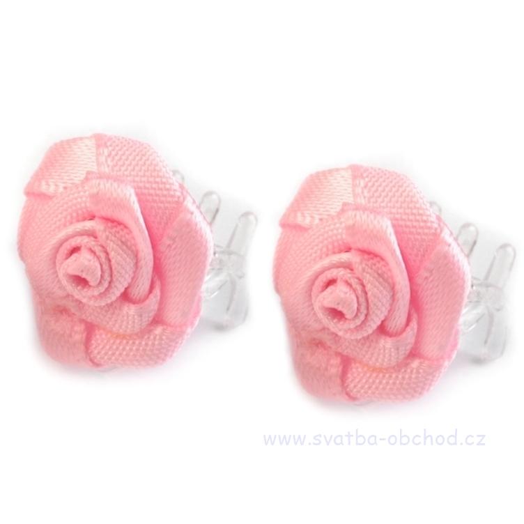 Skřipeček 16 růžová růžička - Studio Květuše 9cbf85ded2