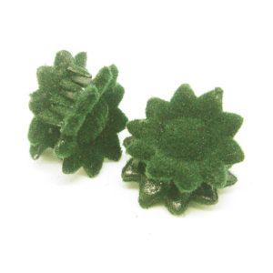 Skřipeček 41 sametový zelený