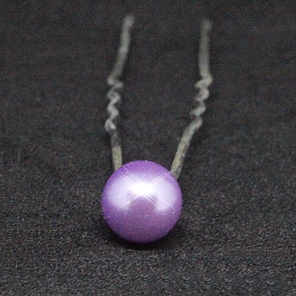 Vlásenka 049 fialová perlička