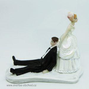 Žertovná svatební figurka 99
