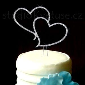 Netradiční ozdoba dortu 100 a