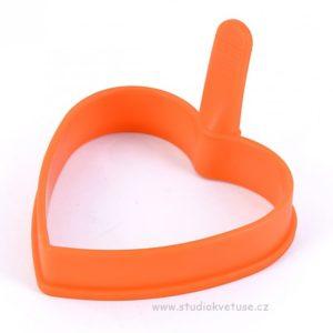 Silikonová forma na pánev 01 srdce