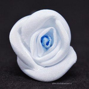 Kytičky bílo modré 36