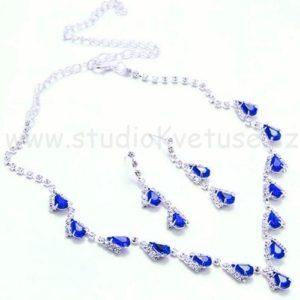 Náhrdelník 005 modrý