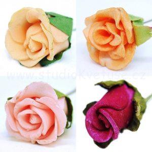Růžička na drátku a
