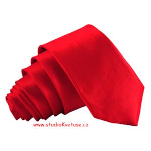 Kravata 197 - červená