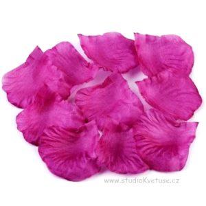 Okvětní plátky růží 004 fialové
