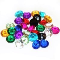 Diamantíky, krystaly, korálky