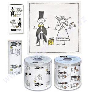 Kapesníčky a toaletní papíry