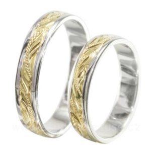 Prsteny snubní i zásnubní