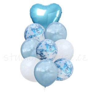 Balonky set - modrý