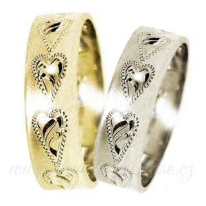 Jedno-barevné prsteny