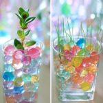 Gelové vodní perly a