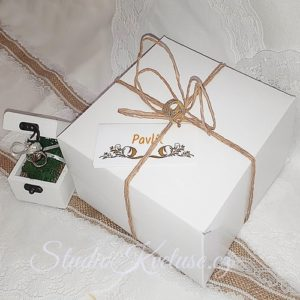 Krabička dortová malá