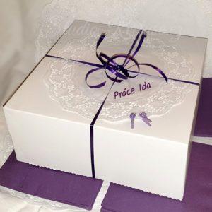 Krabička dortová velká